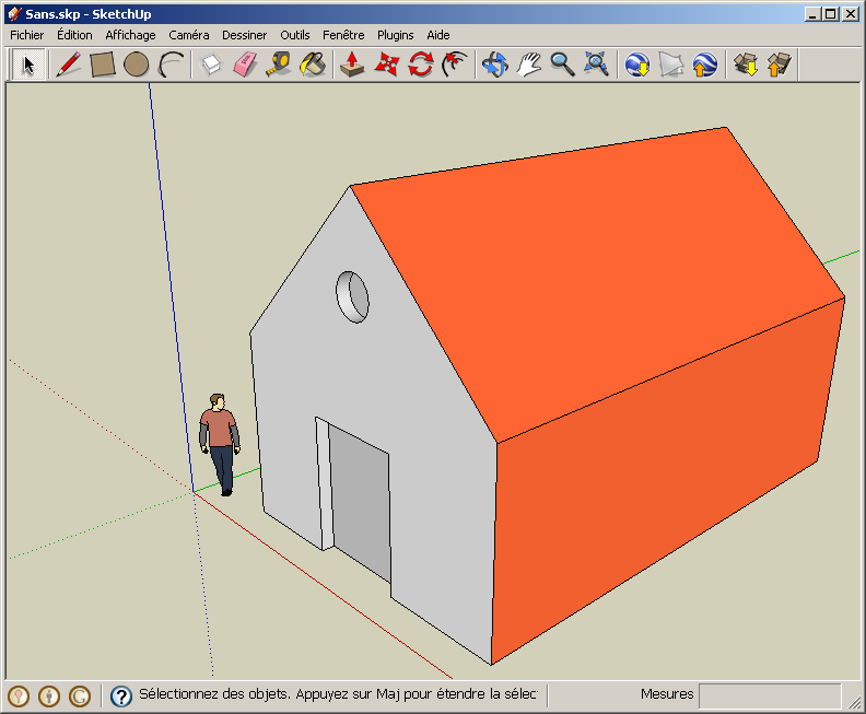 Import google sketchup models for Minimalist house sketchup